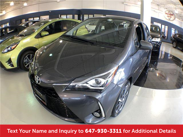 2018 Toyota Yaris SE (Stk: L3135A) in Mississauga - Image 1 of 17