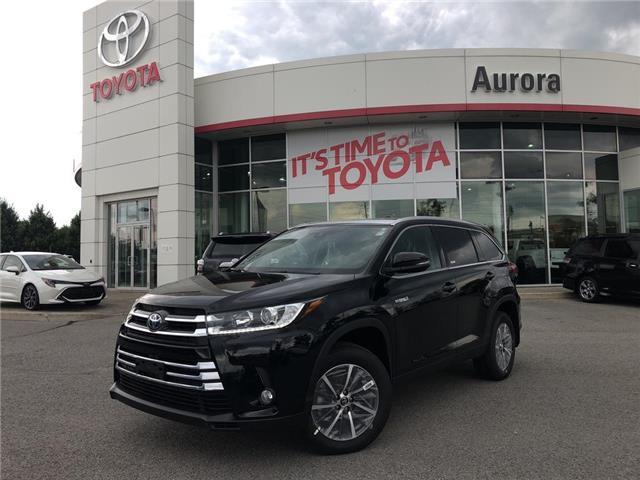 2019 Toyota Highlander Hybrid XLE (Stk: 31086) in Aurora - Image 1 of 15