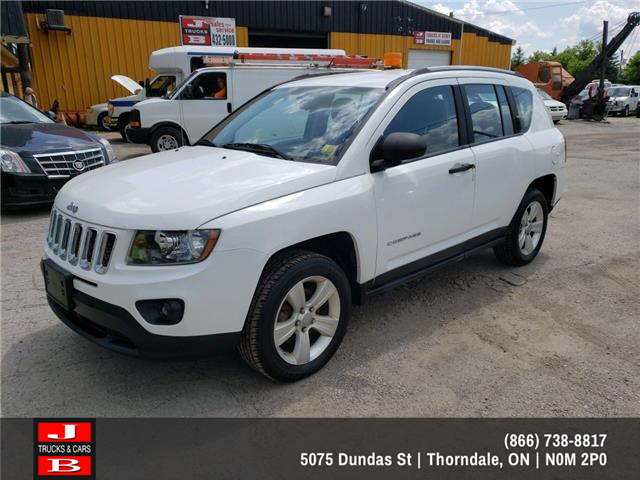 2014 Jeep Compass Sport/North (Stk: 5762) in Thordale - Image 1 of 6