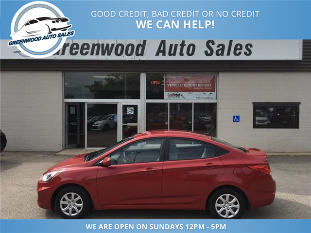 2014 Hyundai Accent GL (Stk: 14-61071) in Greenwood - Image 1 of 13