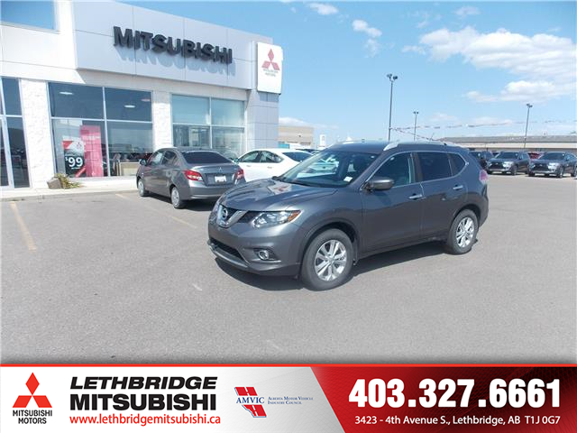 2016 Nissan Rogue SV (Stk: L3760A) in Lethbridge - Image 1 of 14