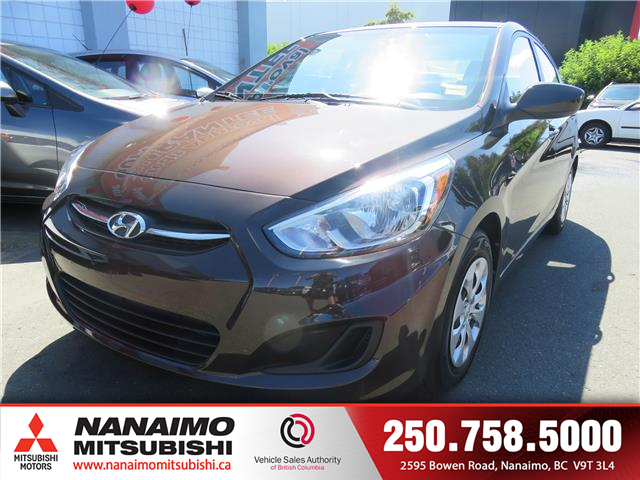 2015 Hyundai Accent GL (Stk: 9R2960A) in Nanaimo - Image 1 of 10