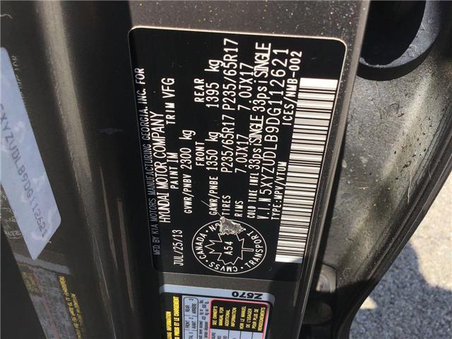 2013 Hyundai Santa Fe Sport 2.4 Luxury (Stk: T7598) in Hamilton - Image 21 of 29