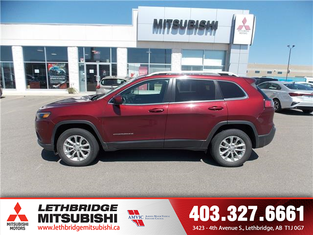 2019 Jeep Cherokee North (Stk: P3862) in Lethbridge - Image 2 of 15