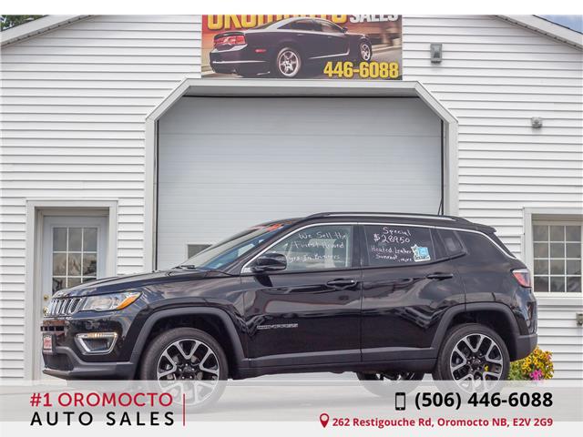 2018 Jeep Compass Limited (Stk: 905) in Oromocto - Image 1 of 22