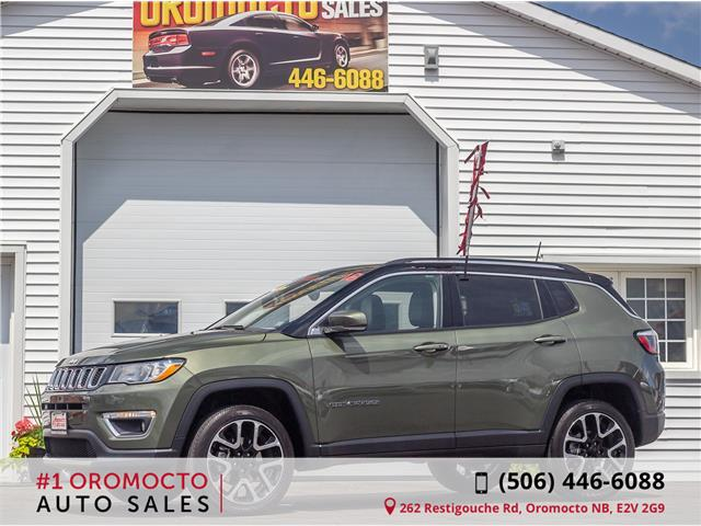 2018 Jeep Compass Limited (Stk: 709) in Oromocto - Image 1 of 4
