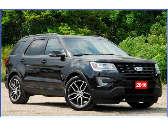 2016 Ford Explorer Sport (Stk: 148400X) in Kitchener - Image 1 of 18