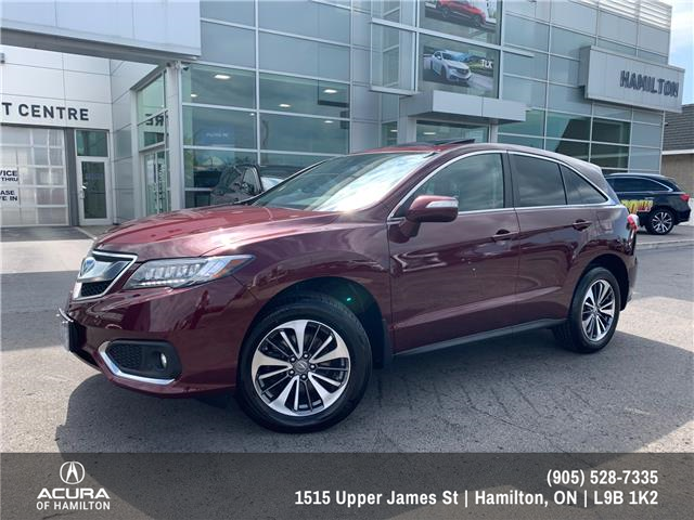 2018 Acura RDX Elite (Stk: 1704301) in Hamilton - Image 1 of 33