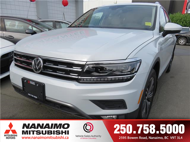 2018 Volkswagen Tiguan Highline (Stk: 9P7514A) in Nanaimo - Image 1 of 10