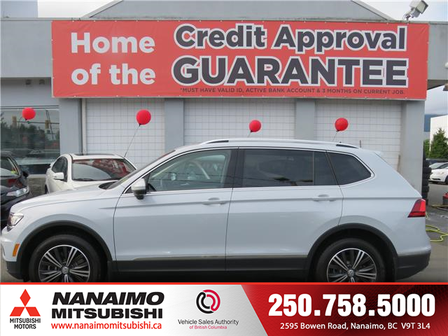 2018 Volkswagen Tiguan Highline (Stk: 9P7514A) in Nanaimo - Image 2 of 10
