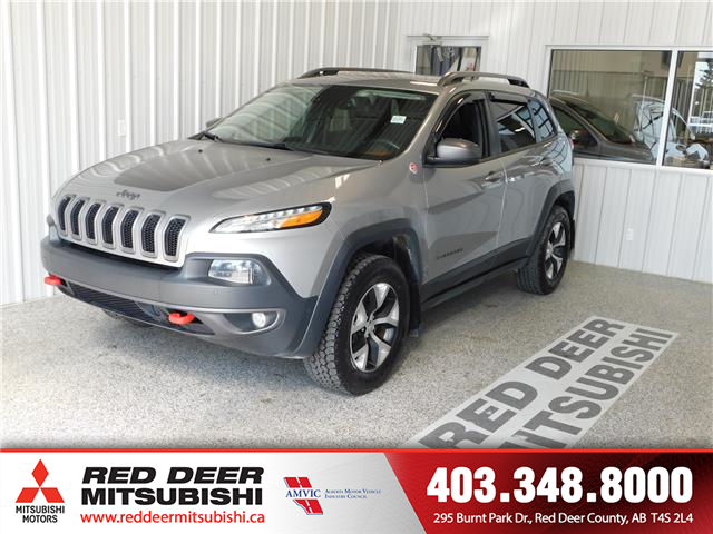 2016 Jeep Cherokee 27E (Stk: P8444A) in Red Deer County - Image 1 of 16