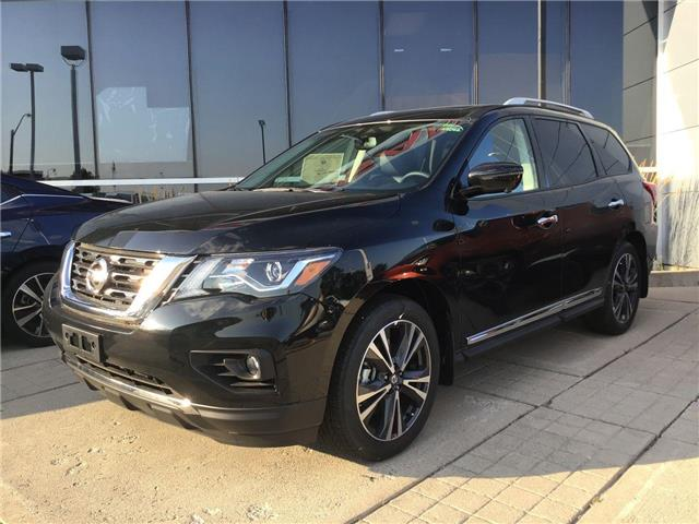 2019 Nissan Pathfinder Platinum (Stk: A8062) in Hamilton - Image 1 of 4