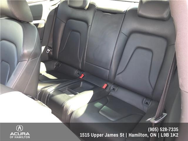 2015 Audi A5 2.0T Technik (Stk: 1500281) in Hamilton - Image 19 of 28