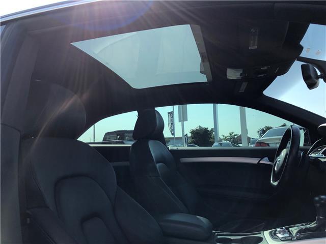 2015 Audi A5 2.0T Technik (Stk: 1500281) in Hamilton - Image 11 of 28
