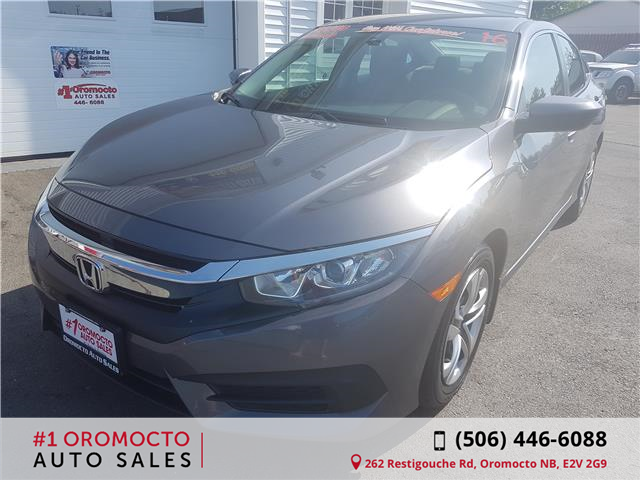 2016 Honda Civic LX (Stk: 7653) in Oromocto - Image 2 of 24