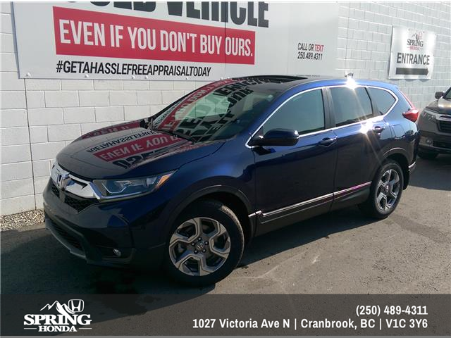 2019 Honda CR-V EX (Stk: H23372) in North Cranbrook - Image 1 of 7