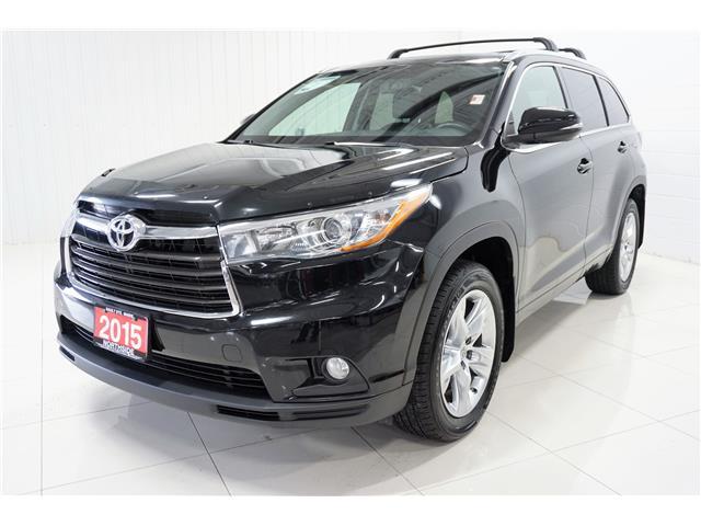 2015 Toyota Highlander Limited (Stk: P5397) in Sault Ste. Marie - Image 1 of 27