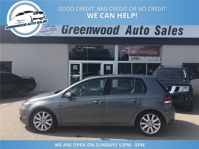 2012 Volkswagen Golf 2.0 TDI Highline (Stk: 12-55658) in Greenwood - Image 1 of 14
