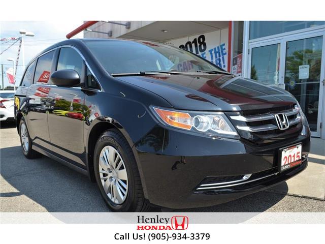 2015 Honda Odyssey 2015 Honda Odyssey  LX BLUETOOTH BACK UP CAMERA (Stk: R9524) in St. Catharines - Image 1 of 25