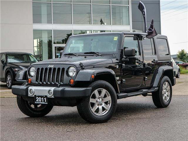 2011 Jeep Wrangler Unlimited 70th Anniversary (Stk: 19-1370a) in Ajax - Image 1 of 23