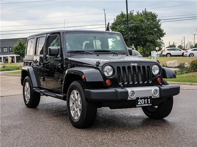 2011 Jeep Wrangler Unlimited 70th Anniversary (Stk: 19-1370a) in Ajax - Image 3 of 23