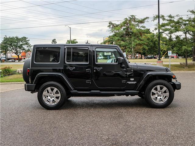 2011 Jeep Wrangler Unlimited 70th Anniversary (Stk: 19-1370a) in Ajax - Image 4 of 23