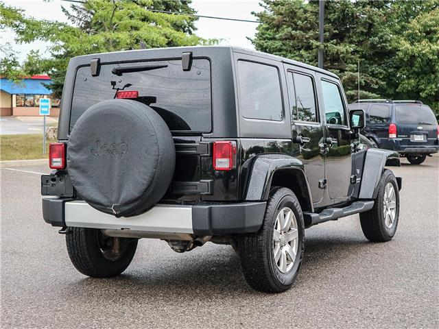2011 Jeep Wrangler Unlimited 70th Anniversary (Stk: 19-1370a) in Ajax - Image 5 of 23