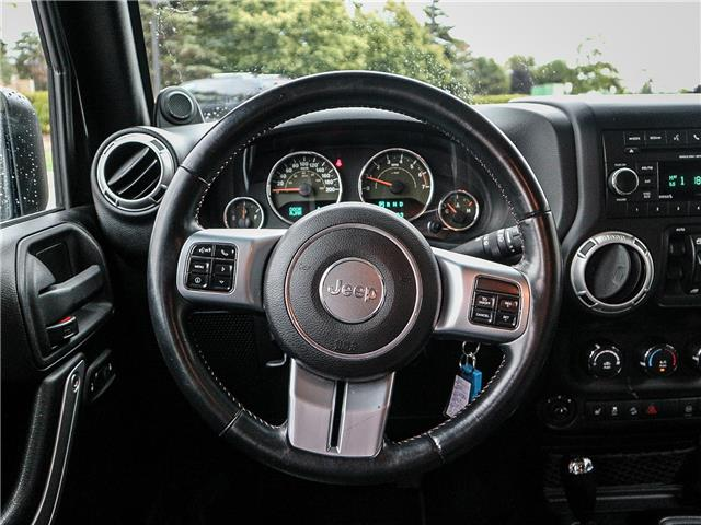 2011 Jeep Wrangler Unlimited 70th Anniversary (Stk: 19-1370a) in Ajax - Image 12 of 23
