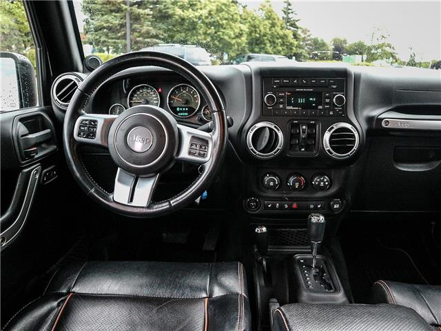 2011 Jeep Wrangler Unlimited 70th Anniversary (Stk: 19-1370a) in Ajax - Image 13 of 23