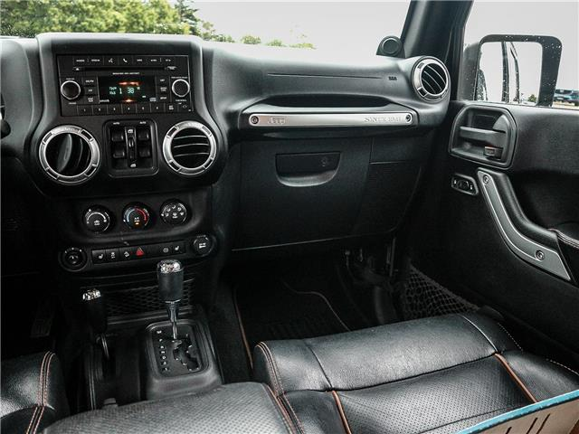 2011 Jeep Wrangler Unlimited 70th Anniversary (Stk: 19-1370a) in Ajax - Image 15 of 23