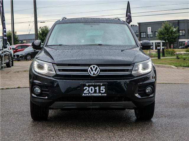 2015 Volkswagen Tiguan  (Stk: P5195) in Ajax - Image 2 of 25