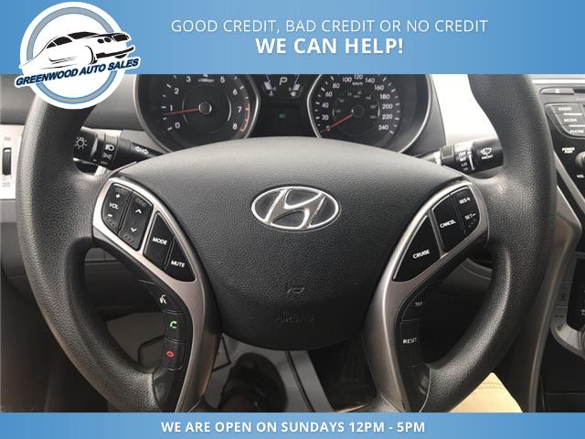 2013 Hyundai Elantra GL (Stk: 13-28080) in Greenwood - Image 10 of 16