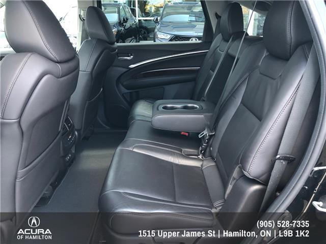 2017 Acura MDX Navigation Package (Stk: 1716670) in Hamilton - Image 12 of 27