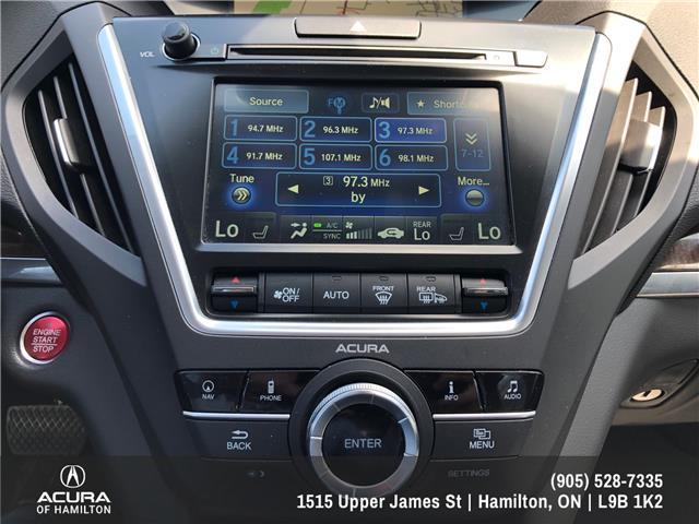2017 Acura MDX Navigation Package (Stk: 1716670) in Hamilton - Image 8 of 27