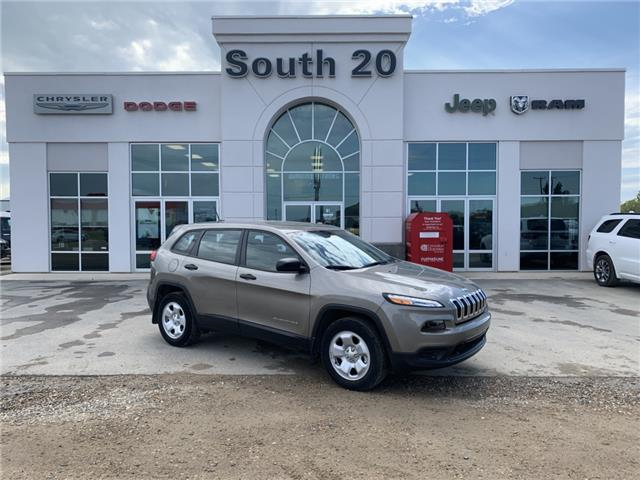 2017 Jeep Cherokee 24A (Stk: 32437A) in Humboldt - Image 1 of 26