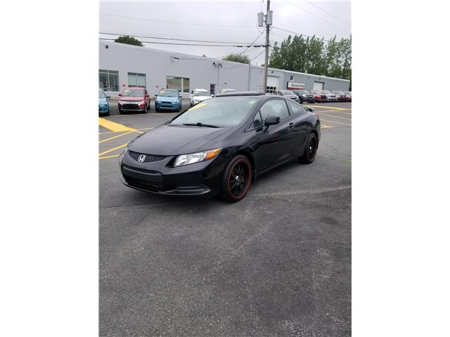 2012 Honda Civic EX Coupe 5-Speed AT (Stk: p19-193) in Dartmouth - Image 1 of 7