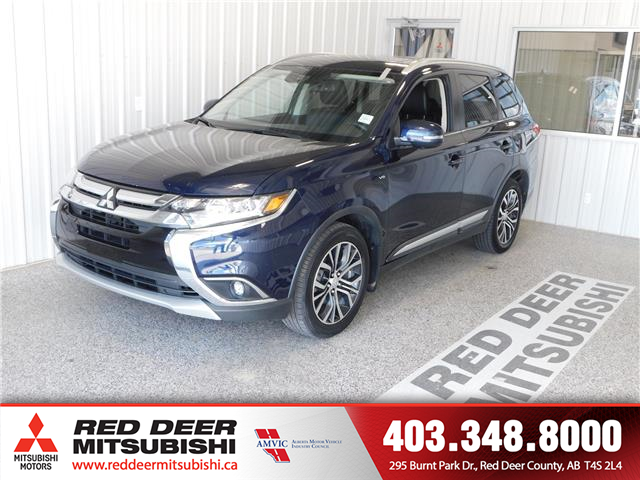 2017 Mitsubishi Outlander GT (Stk: L8418A) in Red Deer County - Image 1 of 17