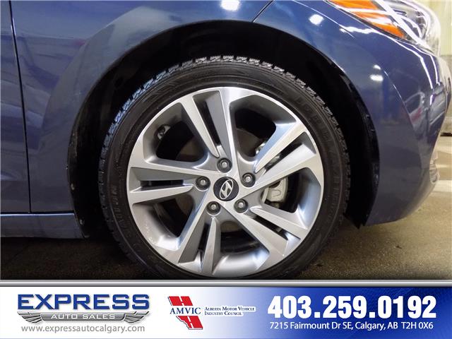 2018 Hyundai Elantra GLS (Stk: P15-1116AA) in Calgary - Image 8 of 18