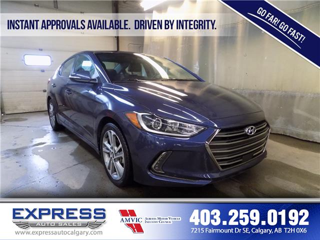 2018 Hyundai Elantra GLS (Stk: P15-1116AA) in Calgary - Image 1 of 18