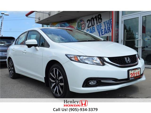 2015 Honda Civic Sedan 2015 Honda Civic Sedan Touring FULLY LOADED (Stk: B0878) in St. Catharines - Image 1 of 23