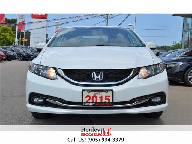 2015 Honda Civic Sedan 2015 Honda Civic Sedan Touring FULLY LOADED (Stk: B0878) in St. Catharines - Image 3 of 23