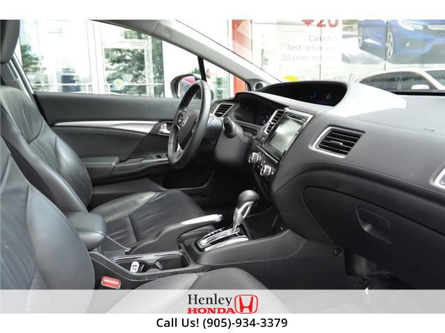 2015 Honda Civic Sedan 2015 Honda Civic Sedan Touring FULLY LOADED (Stk: B0878) in St. Catharines - Image 8 of 23
