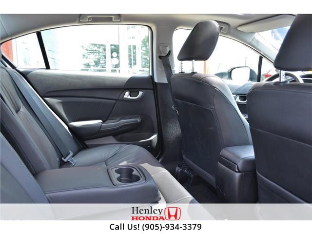 2015 Honda Civic Sedan 2015 Honda Civic Sedan Touring FULLY LOADED (Stk: B0878) in St. Catharines - Image 10 of 23