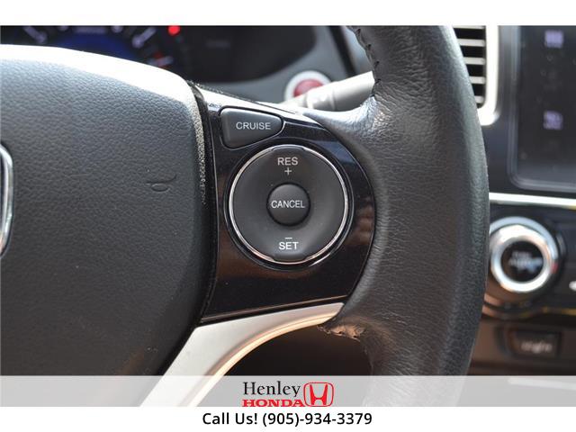 2015 Honda Civic Sedan 2015 Honda Civic Sedan Touring FULLY LOADED (Stk: B0878) in St. Catharines - Image 14 of 23