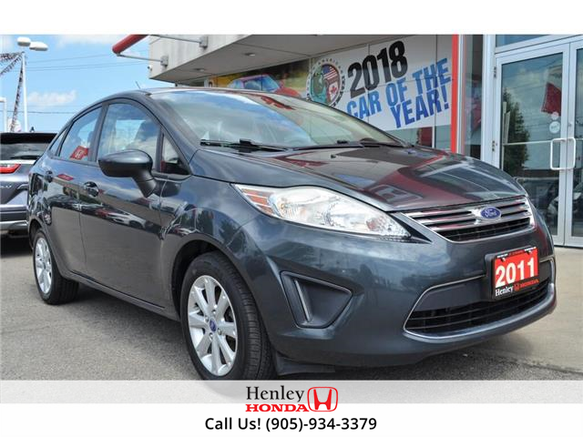 2011 Ford Fiesta 2011 Ford Fiesta - 4dr SE (Stk: R9471A) in St. Catharines - Image 1 of 19