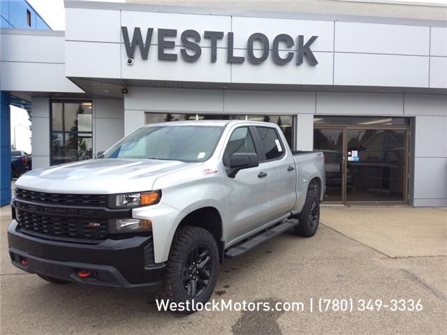 2019 Chevrolet Silverado 1500 Silverado Custom Trail Boss (Stk: 19T163) in Westlock - Image 1 of 14