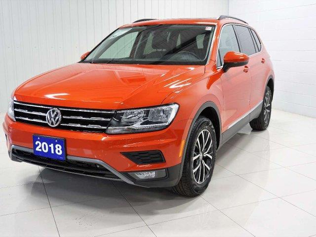 2018 Volkswagen Tiguan Comfortline (Stk: V0471) in Sault Ste. Marie - Image 2 of 24