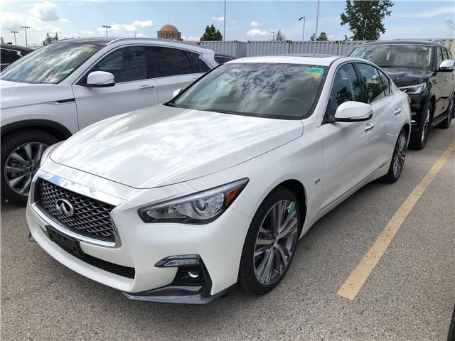 2019 Infiniti Q50 3.0t Signature Edition (Stk: G19046) in London - Image 1 of 5