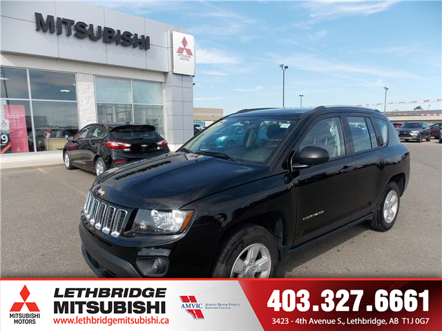 2017 Jeep Compass Sport/North (Stk: 9R601830A) in Lethbridge - Image 1 of 12
