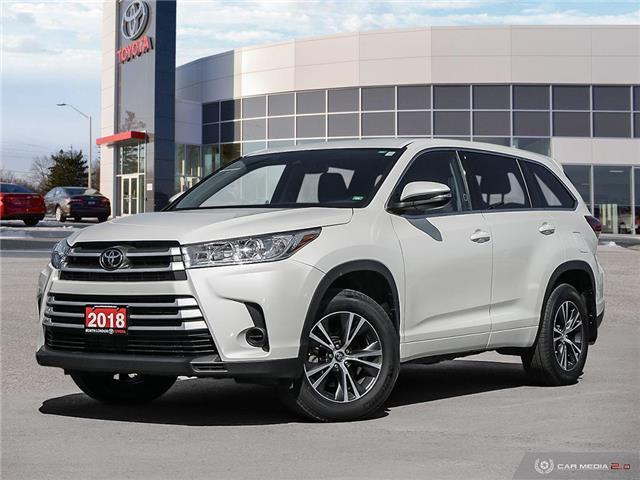 2018 Toyota Highlander LE (Stk: A219707) in London - Image 1 of 27